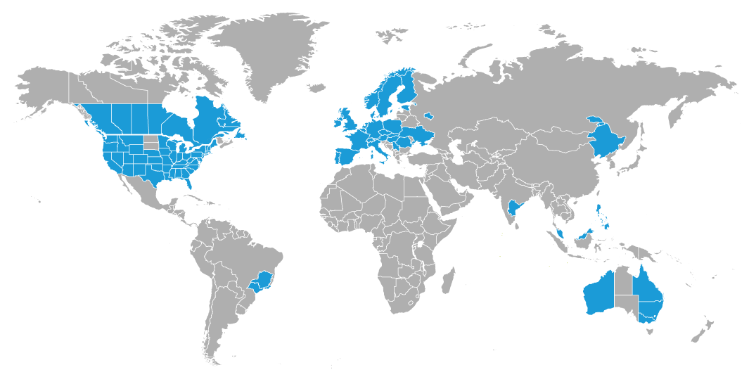 CRH worldmap