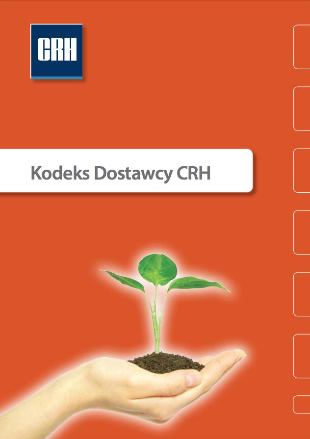 Kodeks Dostawcy CRH