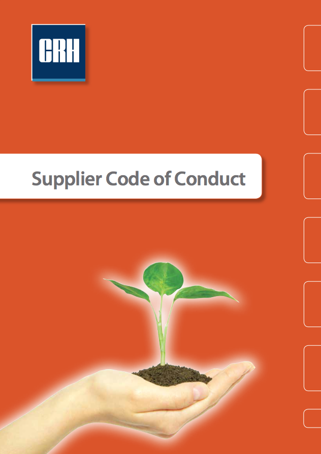 CRH Supplier Code of Conduct